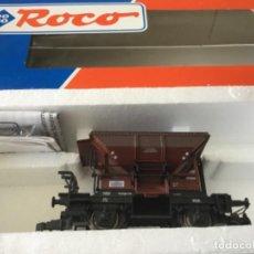 Trenes Escala: H0 ROCO VAGÓN TOLVA REF 46128. SIN USO, DE VITRINA. Lote 210237586