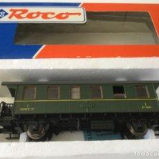 Comboios Escala: H0 ROCO VAGÓN PASAJEROS RENFE. REF. 44800. NUEVO, DE VITRINA. ÚNICO.. Lote 210246372
