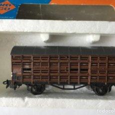Trenes Escala: ROCO H0 VAGÓN TRANSPORTE GANADO DE LA DB. MUY BUEN ESTADO.. Lote 210786970