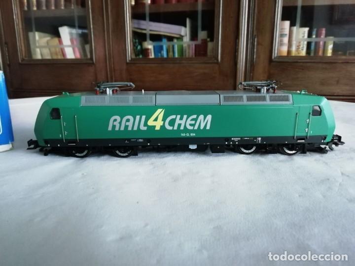 Trenes Escala: Roco H0 63564 Locomotora Eléctrica 145-CL 004 RAIL4CHEM Nueva - Foto 3 - 213410776