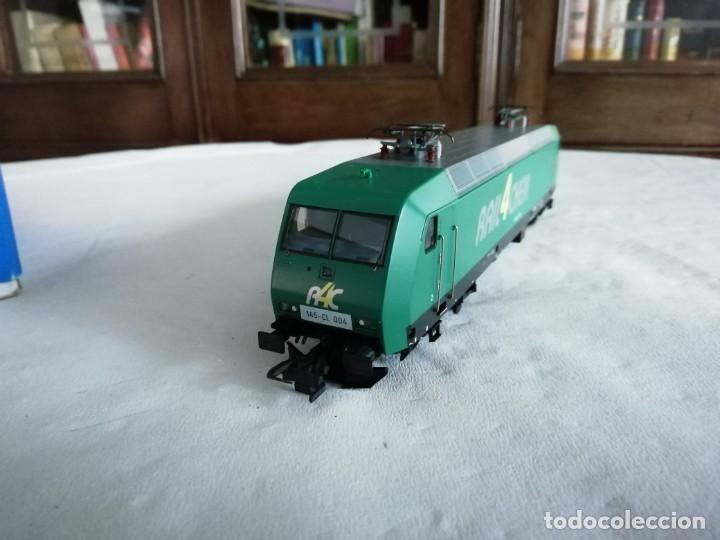 Trenes Escala: Roco H0 63564 Locomotora Eléctrica 145-CL 004 RAIL4CHEM Nueva - Foto 4 - 213410776