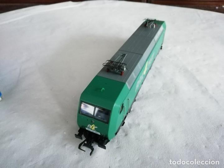 Trenes Escala: Roco H0 63564 Locomotora Eléctrica 145-CL 004 RAIL4CHEM Nueva - Foto 5 - 213410776