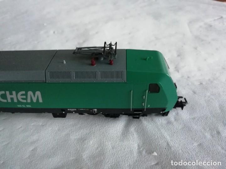 Trenes Escala: Roco H0 63564 Locomotora Eléctrica 145-CL 004 RAIL4CHEM Nueva - Foto 7 - 213410776