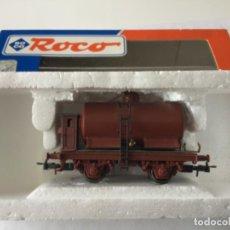 Trenes Escala: H0 ROCO. VAGÓN CISTERNA CON GARITA. REF. 48039. PRECIOSO, MUY BUEN ESTADO.. Lote 214723326