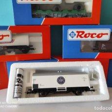 Trenes Escala: ROCO HO VAGON CERRADO MERCANCIAS REF: 47710 DB. Lote 214745777