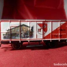 Trenes Escala: VAGÓN CERRADO ESCALA HO DE ROCO. Lote 215998817