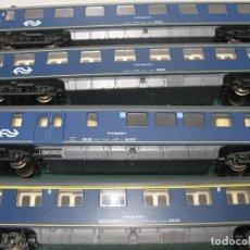 Trenes Escala: CUATRO COCHES DE ROCO HOLANDA COMO NUEVOS. Lote 216354017