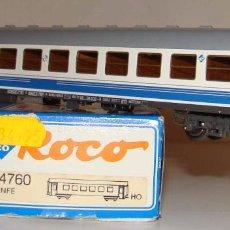 Trenes Escala: ROCO COCHE PASAJEROS LARGO RECORRIDO DE RENFE REF 44760 ESCALA H0. Lote 218120352