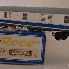 Trenes Escala: ROCO FURGON LARGO RECORRIDO DE RENFE REF 45236 ESCALA H0. Lote 218120680