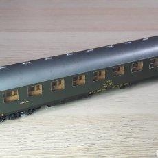 Trenes Escala: COCHE VIAJEROS 2ª CLASE *LITERAS* 8000 RENFE REF. 44388, ROCO H0 1/87, ORIGINAL AÑOS 80.. Lote 220622697