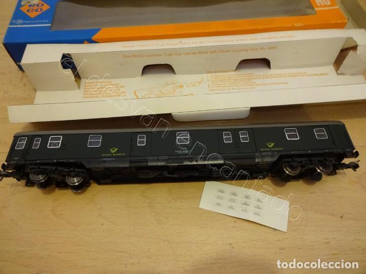 Trenes Escala: ROCO H0. Vagon Deutsche Bundenpost. REF: 4249 - Foto 3 - 221998433