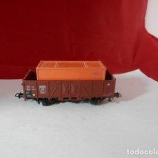 Trenes Escala: VAGÓN BORDE ALTO ESCALA HO DE ROCO. Lote 222218716
