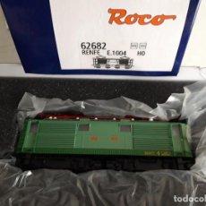 Trenes Escala: LOCOMOTORA RENFE E1004 ROCO 62682 NUEVA. Lote 222241688
