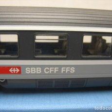 Trenes Escala: VAGON COCHE DE 1º DE LA SBB SUIZO DE ROCO DE 30 CM.. Lote 222278965