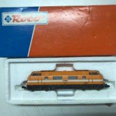 Trenes Escala: LOCOMOTORA ROCO COMSA 2904 CON CAJA ESC H0. Lote 222685986