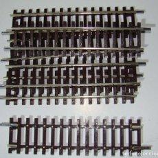 Trenes Escala: LOTE DE 6 TRAMOS DE VIA ROCO REF: 42412 ESCALA H0. Lote 224092208