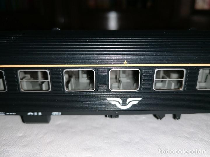 Trenes Escala: Roco H0 64297 Vagón de Pasajeros 1ª Clase Tipo A7 SJ Sueco Nuevo OVP - Foto 4 - 225093338