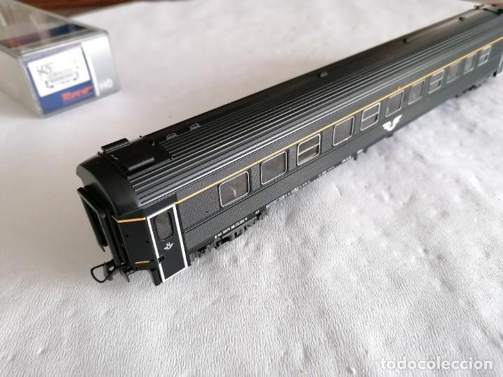 Trenes Escala: Roco H0 64297 Vagón de Pasajeros 1ª Clase Tipo A7 SJ Sueco Nuevo OVP - Foto 7 - 225093338