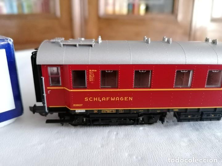 Trenes Escala: Roco H0 45673 Vagón Coche Cama Tipo WL4ü-28 DSG Alemán Nuevo OVP - Foto 3 - 225207560