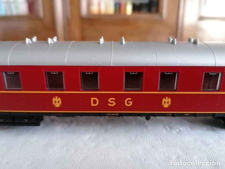 Trenes Escala: Roco H0 45673 Vagón Coche Cama Tipo WL4ü-28 DSG Alemán Nuevo OVP - Foto 4 - 225207560