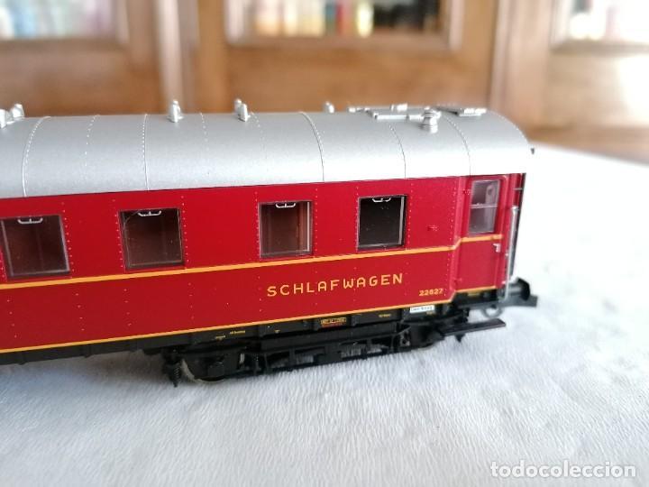 Trenes Escala: Roco H0 45673 Vagón Coche Cama Tipo WL4ü-28 DSG Alemán Nuevo OVP - Foto 5 - 225207560
