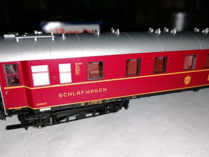 Trenes Escala: Roco H0 45673 Vagón Coche Cama Tipo WL4ü-28 DSG Alemán Nuevo OVP - Foto 7 - 225207560