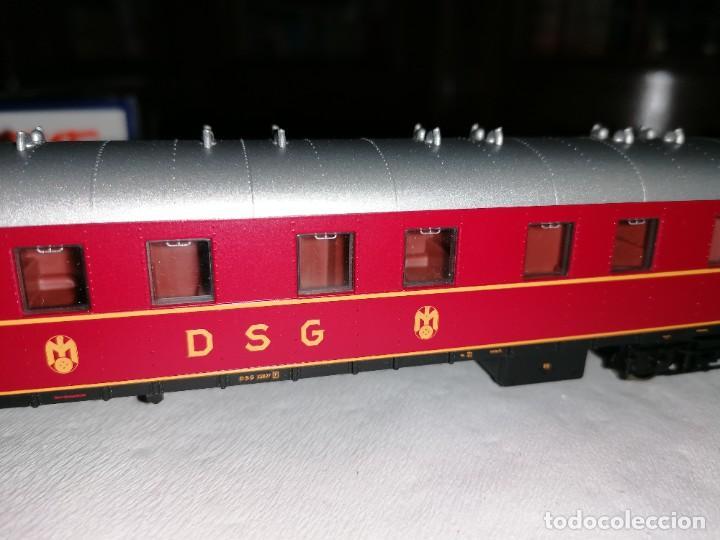 Trenes Escala: Roco H0 45673 Vagón Coche Cama Tipo WL4ü-28 DSG Alemán Nuevo OVP - Foto 8 - 225207560