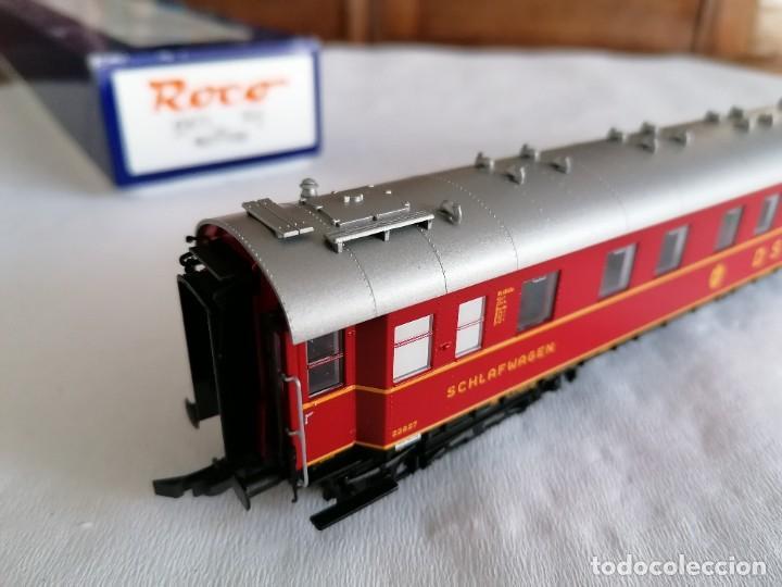 Trenes Escala: Roco H0 45673 Vagón Coche Cama Tipo WL4ü-28 DSG Alemán Nuevo OVP - Foto 9 - 225207560