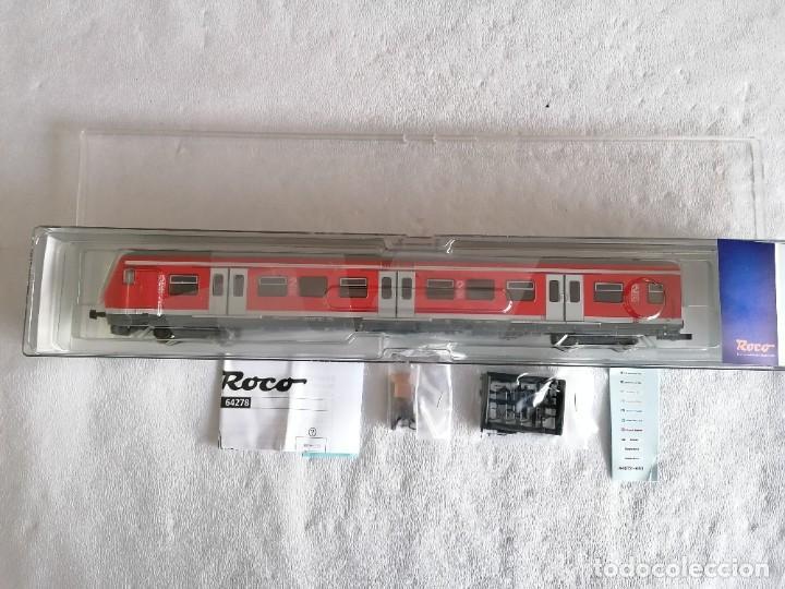 Trenes Escala: Roco H0 64278 Vagón Motor Urbano S-Bahn tipo Bxf DB AG Nuevo OVP - Foto 2 - 225215265