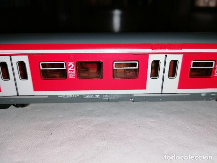 Trenes Escala: Roco H0 64278 Vagón Motor Urbano S-Bahn tipo Bxf DB AG Nuevo OVP - Foto 4 - 225215265