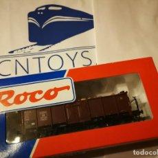 Trenes Escala: OFERTA VAGÓN CARGA ROCO 46625. Lote 225485315