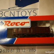 Trenes Escala: OFERTA VAGÓN CARGA ROCO 46619. Lote 225485512