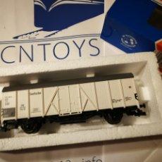 Trenes Escala: OFERTA VAGÓN CARGA ROCO 46235. Lote 225495775