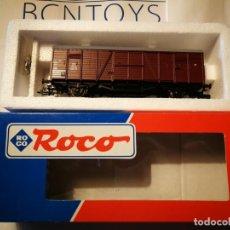 Trenes Escala: OFERTA ROCO VAGÓN CARGA 46105. Lote 225963571