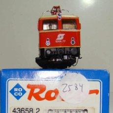 Trenes Escala: ROCO LOCOMOTORA ELECTRICA DE LA OBB REF:43658.2 ESCALA H0 DIGITAL. Lote 225981415