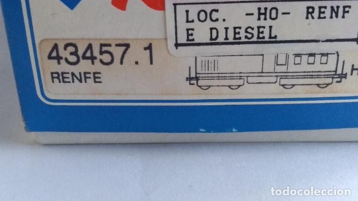 Trenes Escala: ROCO H0 LOCOMOTORA TRACTOR DE MANIOBRAS RENFE 305-040, EN CAJA. CON LUZ. FUNCIONA.CONTINUA - Foto 14 - 226135956