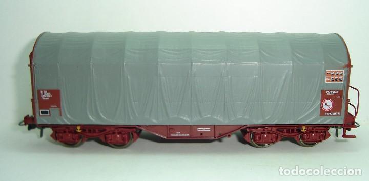 VAGON BOBINERO RENFE ROCO ESCALA HO (Juguetes - Trenes a Escala H0 - Roco H0)
