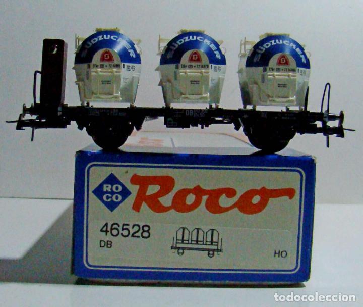ROCO VAGON CON TRES DEPOSITOS REF: 46528 ESCALA H0 (Juguetes - Trenes a Escala H0 - Roco H0)