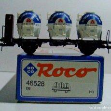 Trenes Escala: ROCO VAGON CON TRES DEPOSITOS REF: 46528 ESCALA H0. Lote 228642580