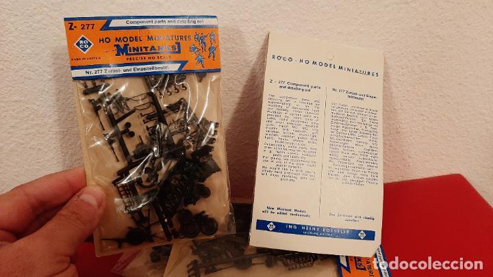 1 UD BLISTER MAQUETA TRENES HO ROCO Z-277 MODEL MINIATURAS MINITANKS Z277 TREN MILITAR (Juguetes - Trenes a Escala H0 - Roco H0)