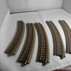 Trains Échelle: LOTE CURVAS ESCALA HO DE ROCO. Lote 233903345