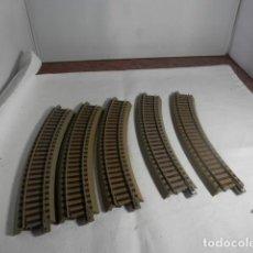 Trains Échelle: LOTE VIAS CURVAS ESCALA HO DE ROCO. Lote 234109055