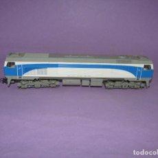Comboios Escala: LOCOMOTORA 319-306-7 GRANDES LÍNEAS RENFE EN ESCALA *H0* CORRIENTE CONTINUA DE ROCO. Lote 234390180