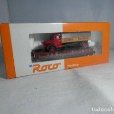 Trenes Escala: VAGÓN BORDE BAJO ESCALA HO DE ROCO. Lote 234960190