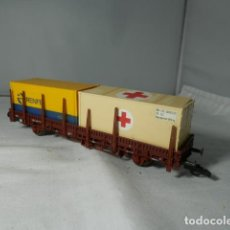 Trenes Escala: VAGÓN TELERO ESCALA HO DE ROCO. Lote 235130980