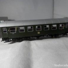 Comboios Escala: VAGÓN PASAJEROS DE LA DB ESCALA HO DE ROCO CON LUZ. Lote 235539250