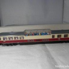 Comboios Escala: VAGÓN PASAJEROS DE LA DB ESCALA HO DE ROCO CON LUZ. Lote 235540090