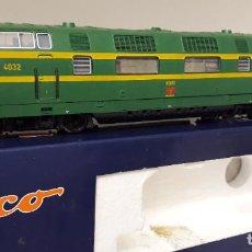 Trenes Escala: ROCO H0 DIGITAL LOCOMOTORA DIÉSEL-HIDRÁULICA S/4032, DE RENFE, REFERENCIA 43583. DC CTE CONTINUA.. Lote 235589235