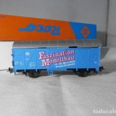 Trenes Escala: VAGÓN CERRADO ESCALA HO DE ROCO. Lote 235591415