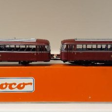 Trenes Escala: ROCO H0 AUTOMOTOR FERROBÚS VT 98, DE LA DB, REFERENCIA 63026 ANALÓGICO DC.. Lote 235596835